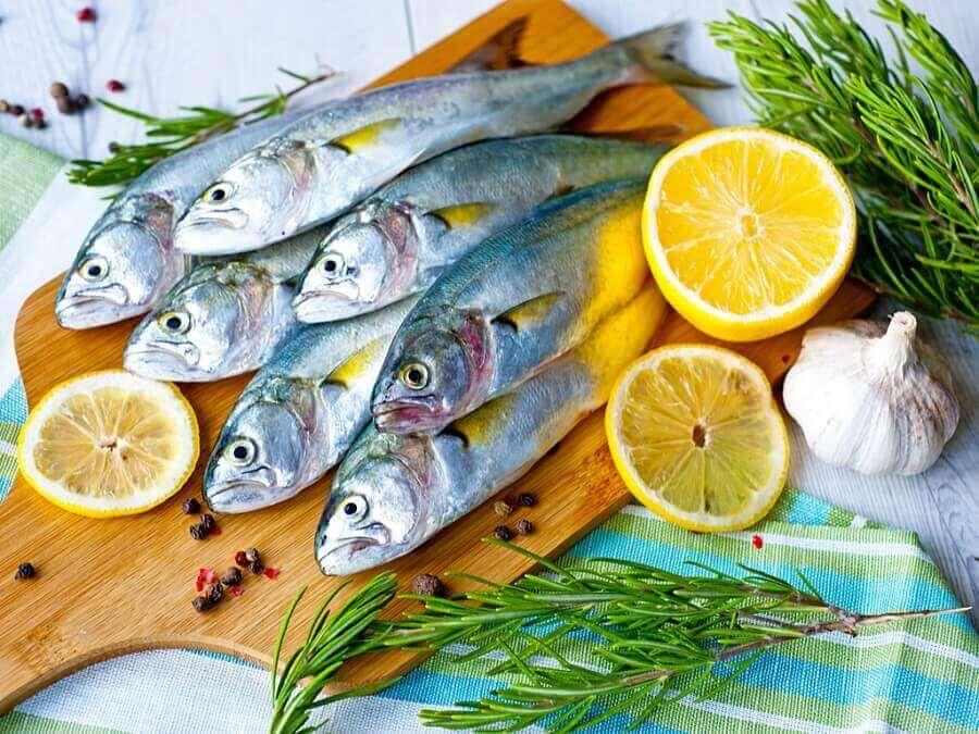 Гратен з риби на вугіллі