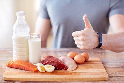 продукти, що містять білки