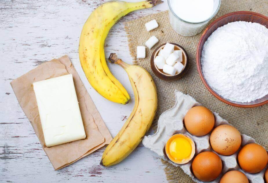 сир та банановий пиріг
