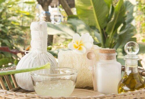 натуральні засоби для профілактики зморшок з кокосом