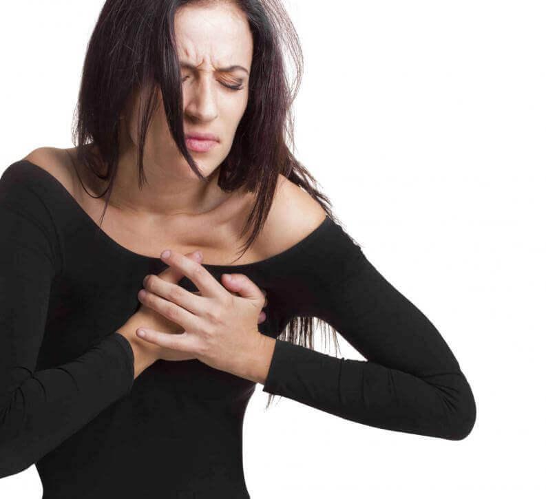 симптоми зупинки серця: біль у грудях