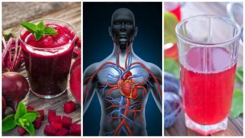 Натуральні напої для покращення кровообігу