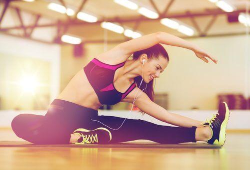 вправи для розтяжки спини: поза Магомета