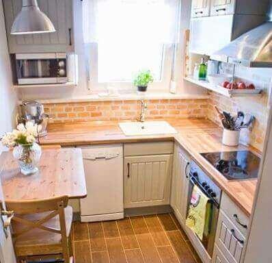 як правильно освітлити маленьку кухню