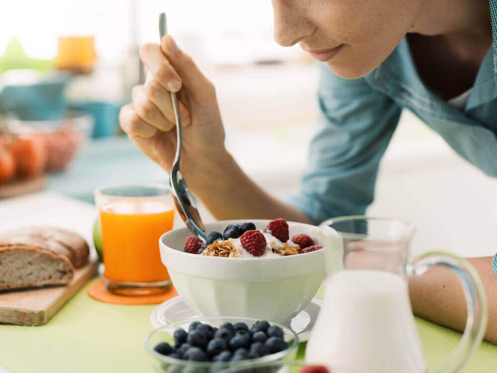 збалансований раціон для втрати ваги