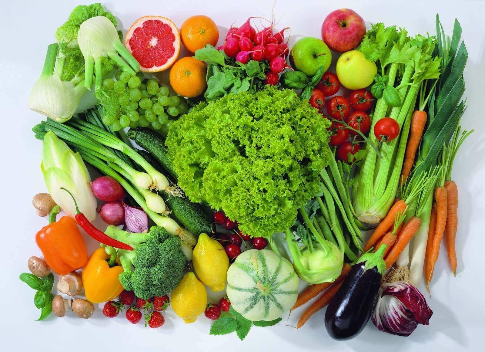 раціон для втрати ваги містить овочі та фрукти
