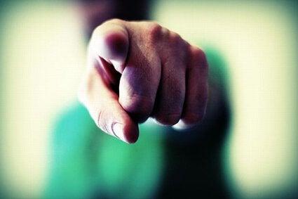 вказівний палець