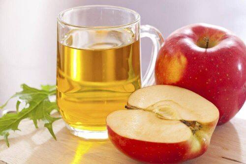 яблучний оцет для заспокоєння печії