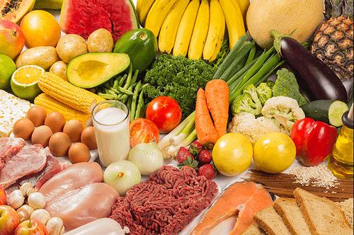 різні їстівні продукти