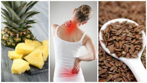 Продукти для зменшення запалення та болю