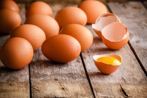 яйця для спалення жиру