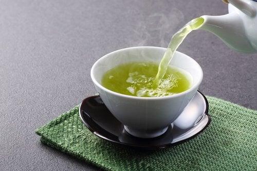зелений чай для спалення жиру