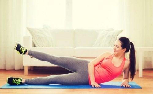 антицелюлітні вправи для ніг
