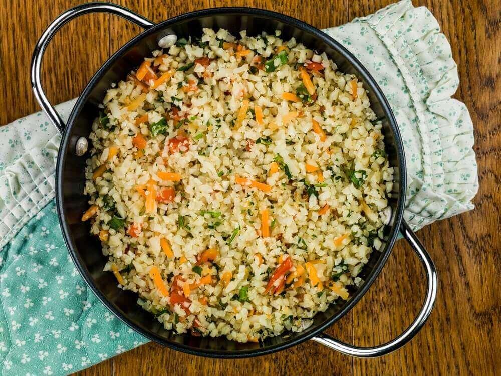 Мексиканський рис із цвітної капусти: простий рецепт!