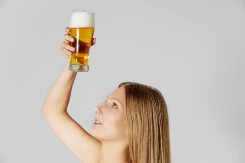 пиво для лікування волосся