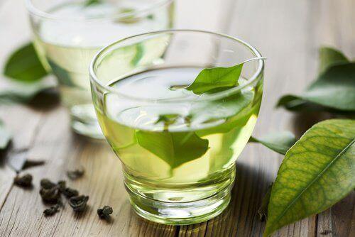 зелений чай для покращення роботи печінки
