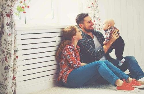 сімейне життя після народження дитини