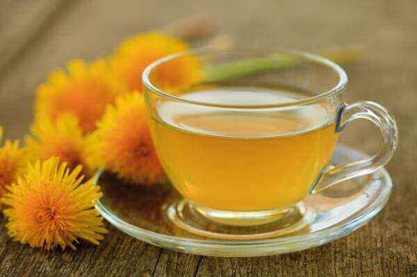 чай з кульбаби, шаровниці і зеленого анісу