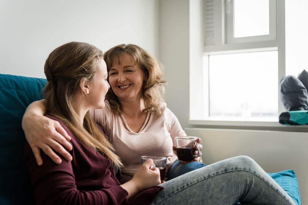 стосунки з мамою