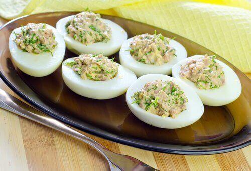 яйця для підкреслення м'язів