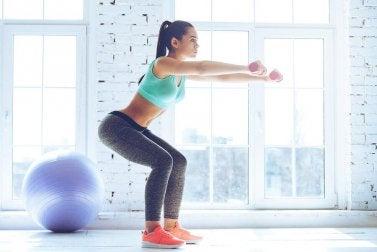 тренування на тонус ніг