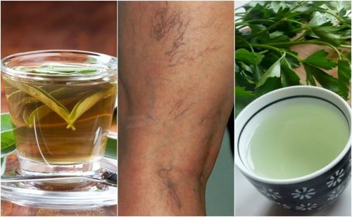 Спробуйте сечогінні чаї від варикозних вен
