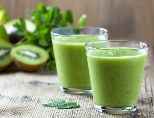 зелені соки з ківі