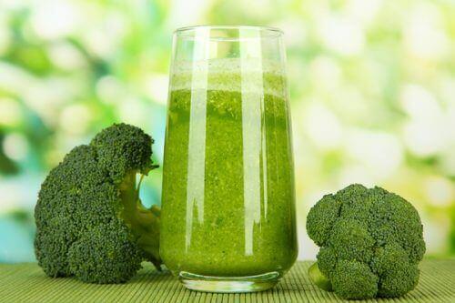 зелені соки з броколі
