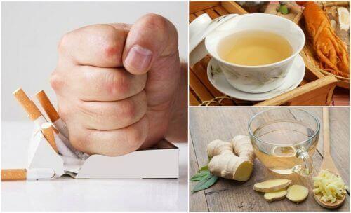 5 чаїв для зменшення бажання курити