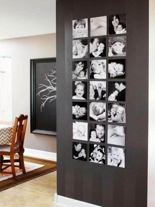 колонна з фотографіями
