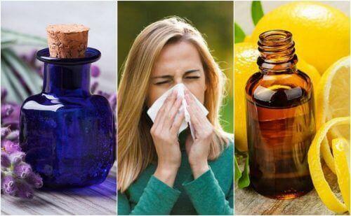Ефірні олії, які доможуть зменшити симптоми алергії