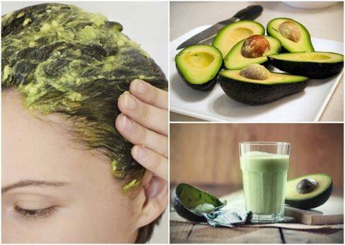 Натуральні засоби на основі авокадо