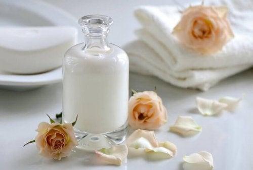 молоко усває поганий запах з рушників