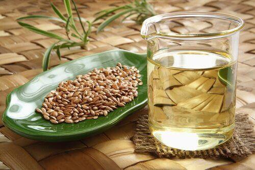 рецепт настою з насінням льону