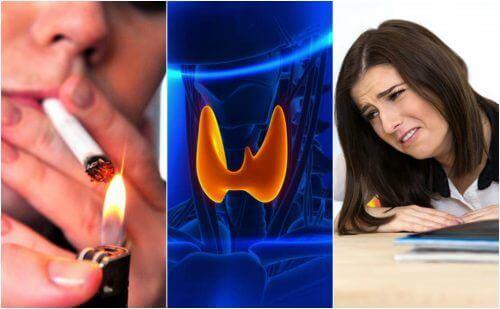 Погані звички, які викликають захворювання щитоподібної залози