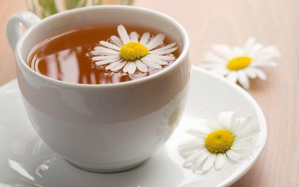 ромашковий чай для лікування запалення стравоходу