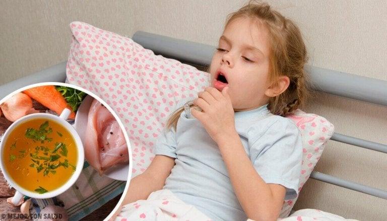 Як лікувати сухий кашель у дітей