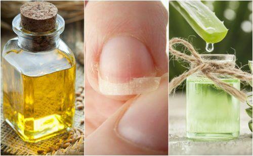 Натуральні засоби для ламких нігтів