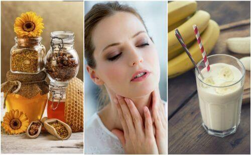 Натуральні засоби від сухості у горлі