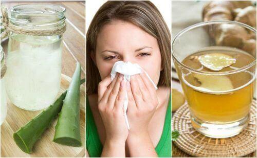 Природні засоби від алергічного риніту