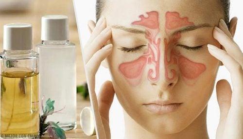 Три природні засоби, щоб очистити носові пазухи