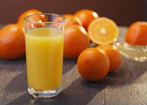 апельсин для виведення сечової кислоти