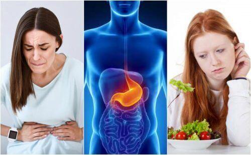 Характерні симптоми виразки шлунка