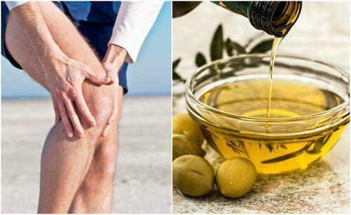 Засіб від болю в суглобах з лимонною цедрою та оливковою олією