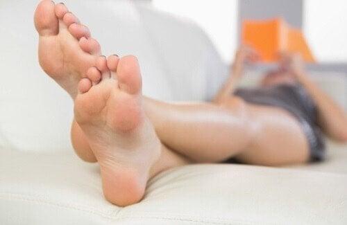 користь для ніг