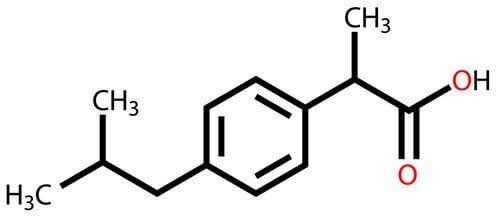 які властивості ібупрофену