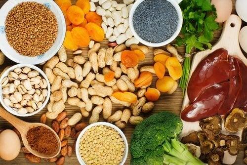 Продукти, які допоможуть підвищити рівень заліза