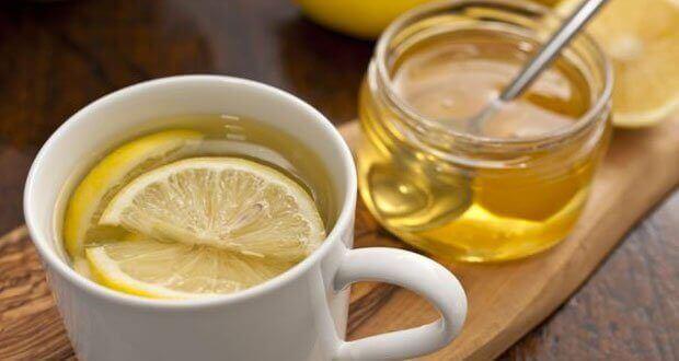мед та лимон від подразнення у горлі