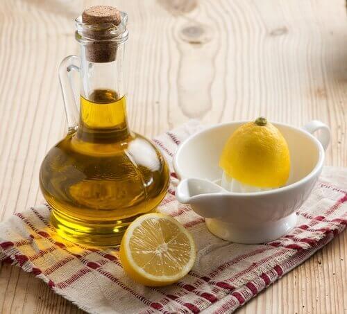 засіб з оливковою олією та лимоном від болю у суглобах