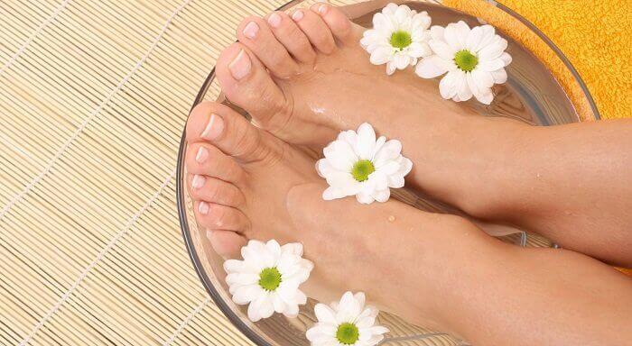 оцет від грибкового захворювання ніг